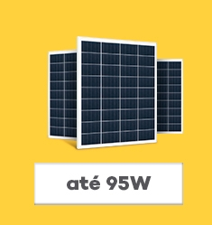 Placa Solar Fotovoltaica até 95Wp