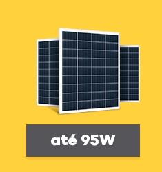 Painel Solar Fotovoltaico de até 95Wp