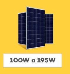 Placa Solar Fotovoltaica - 100Wp até 195Wp