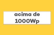 Kit de Energia Solar Off Grid acima de 1000Wp