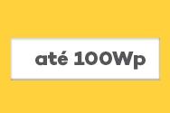 Kit de Energia Solar Off Grid até 100Wp