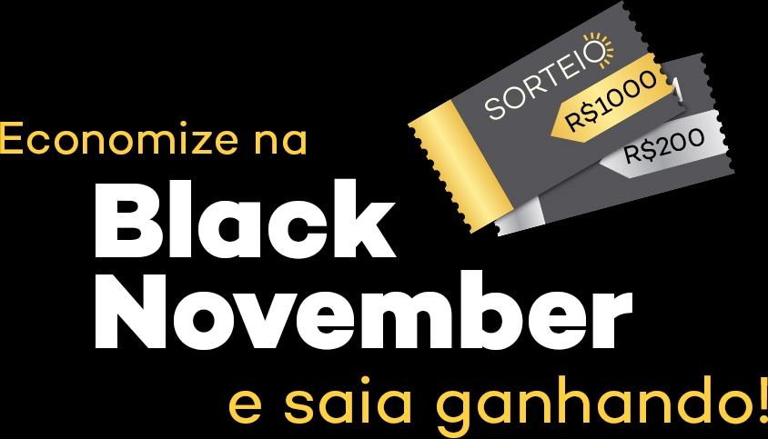 Cupom e Sorteio Black November NeoSolar