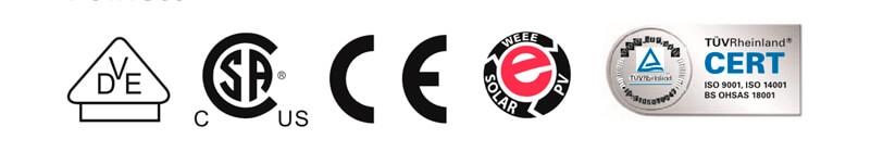 Painel Solar Fotovoltaico Canadian CS3W - 410P - Certificados