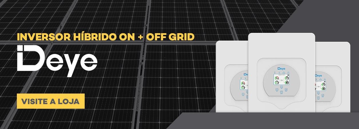 Inversor Híbrido On + Off Grid Deye