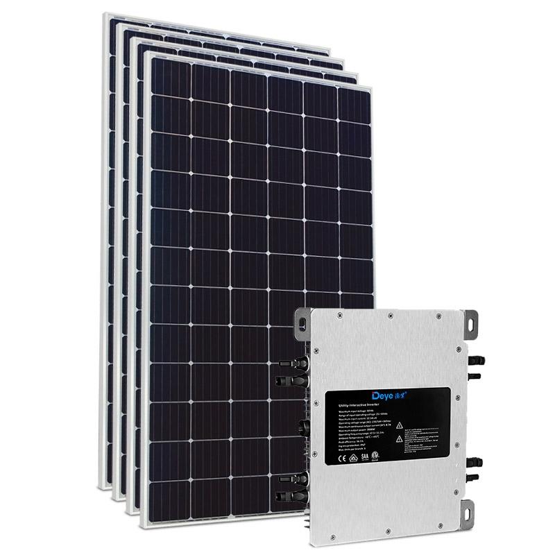 Kit Energia Solar 1,80 kWp - Microinversor - Gerador Solar