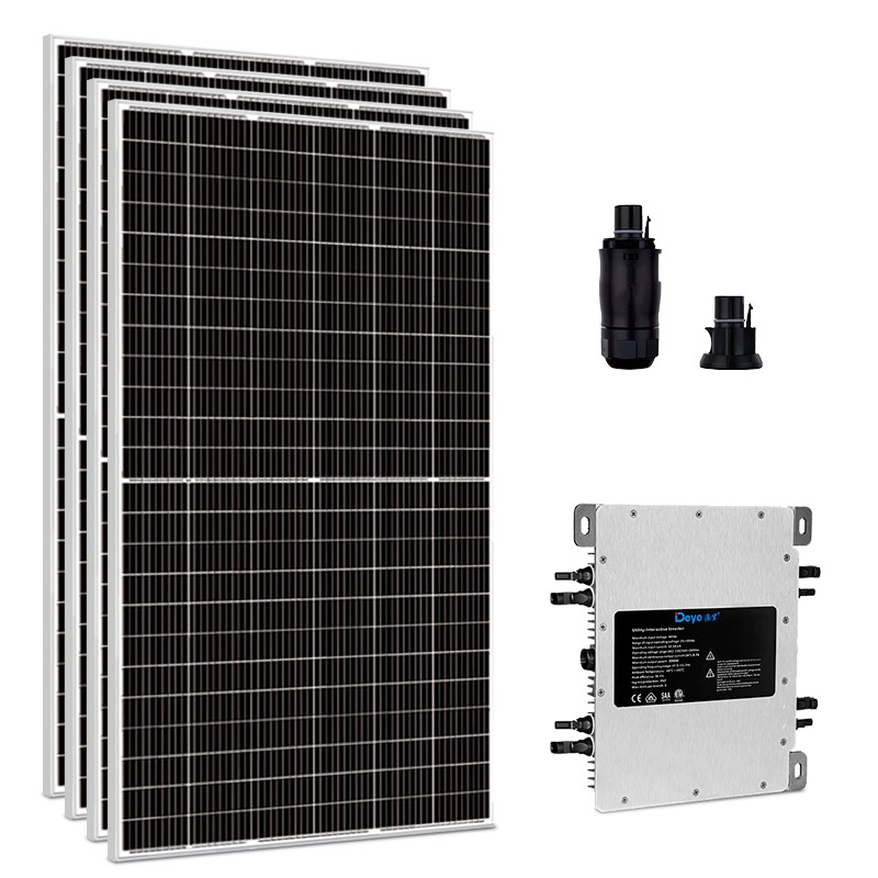 Kit Energia Solar 2,20 kWp - Microinversor - Gerador Solar