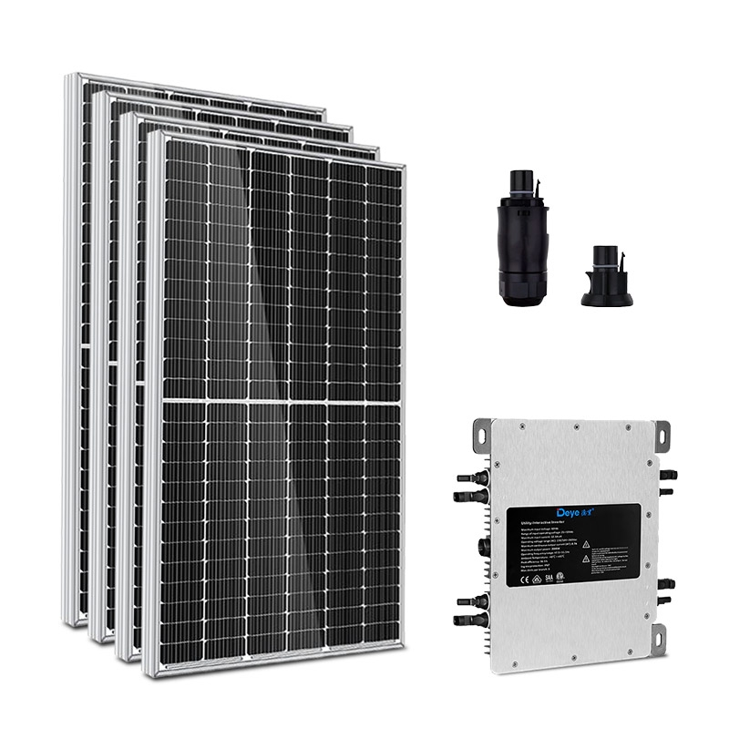 Kit Energia Solar 2,36 kWp - Microinversor - Gerador Solar