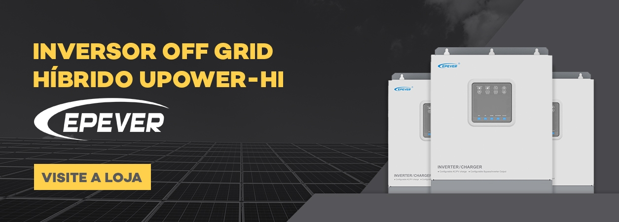 Inversor Solar Híbrido Upower HI - Epever