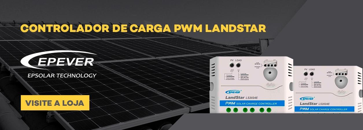 Controlador Solar - Controlador de Carga - Controlador de Carga Landstar
