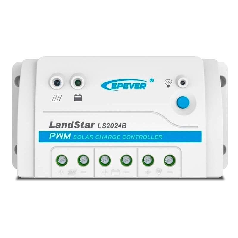 Controlador de Carga Solar PWM Landstar LS2024B