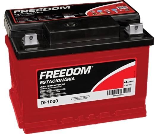 Bateria Estacionária Heliar Freedom DF1000 (70Ah / 60Ah)