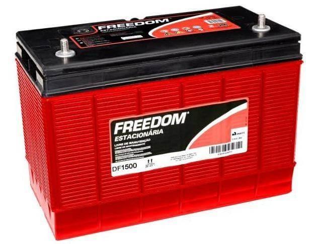 Bateria Estacionária Heliar Freedom DF1500 (93Ah / 80Ah)