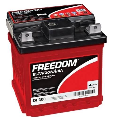 Bateria Estacionária Heliar Freedom DF300 (30Ah / 26Ah)