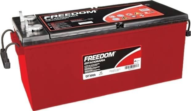 Bateria Estacionária Heliar Freedom DF3000 (185Ah / 170Ah)