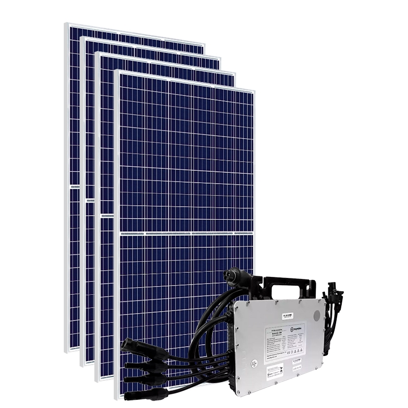 Kit Gerador Energia Solar 1,64 kWp - Sem Estrutura - Micro Inversor Hoymiles - Canadian - Mono 220V
