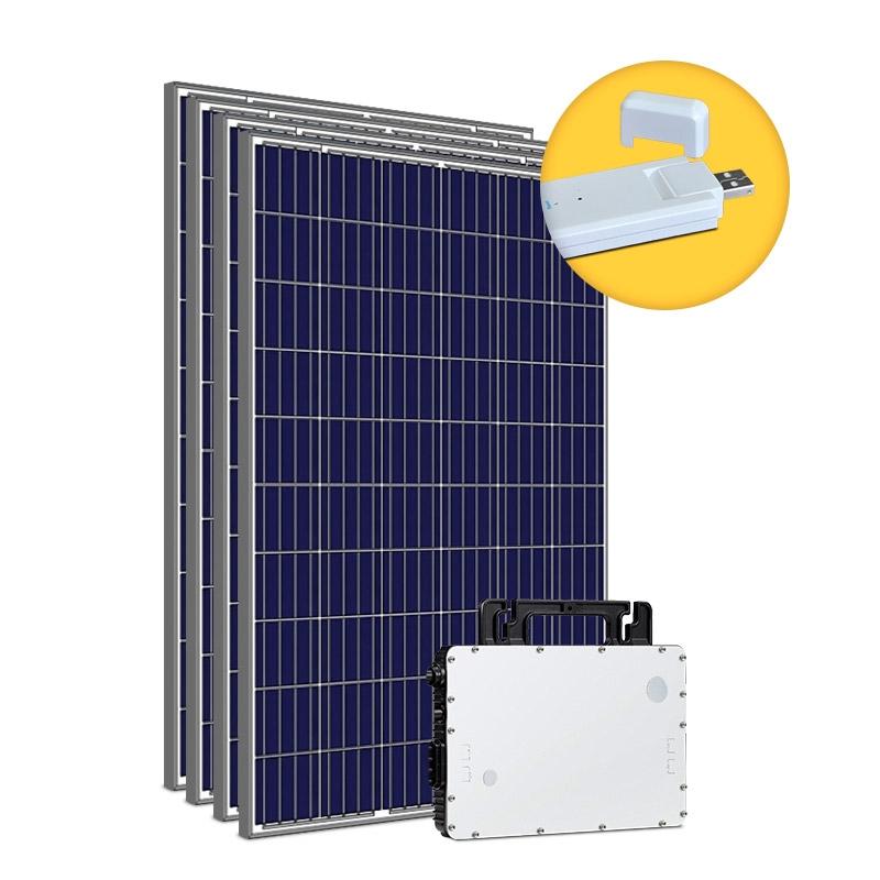 Kit Gerador Energia Solar 1,32 kWp - Microinversor Hoymiles c/ Monitoramento - Mono 220V
