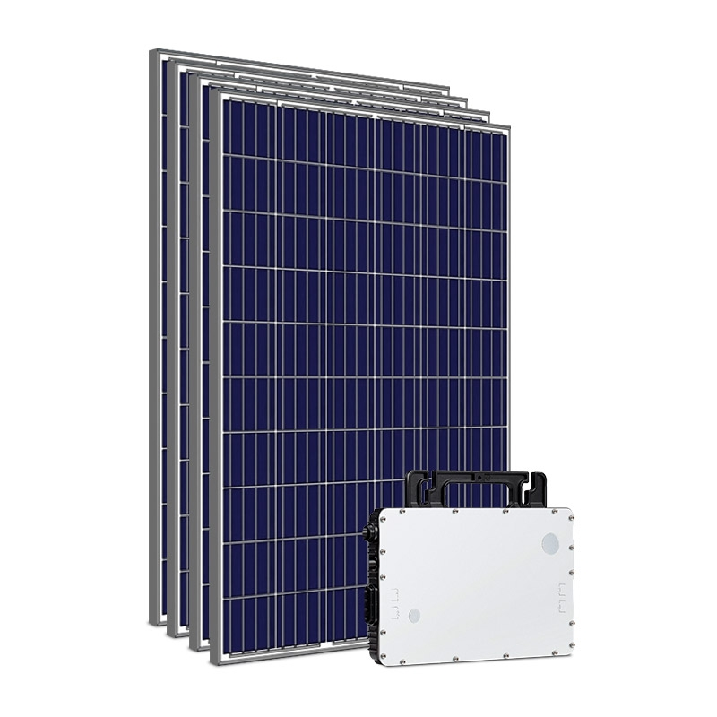 Kit Gerador Energia Solar 1,32 kWp - Sem Estrutura - Micro Inversor Hoymiles - Sunova - Mono 220V