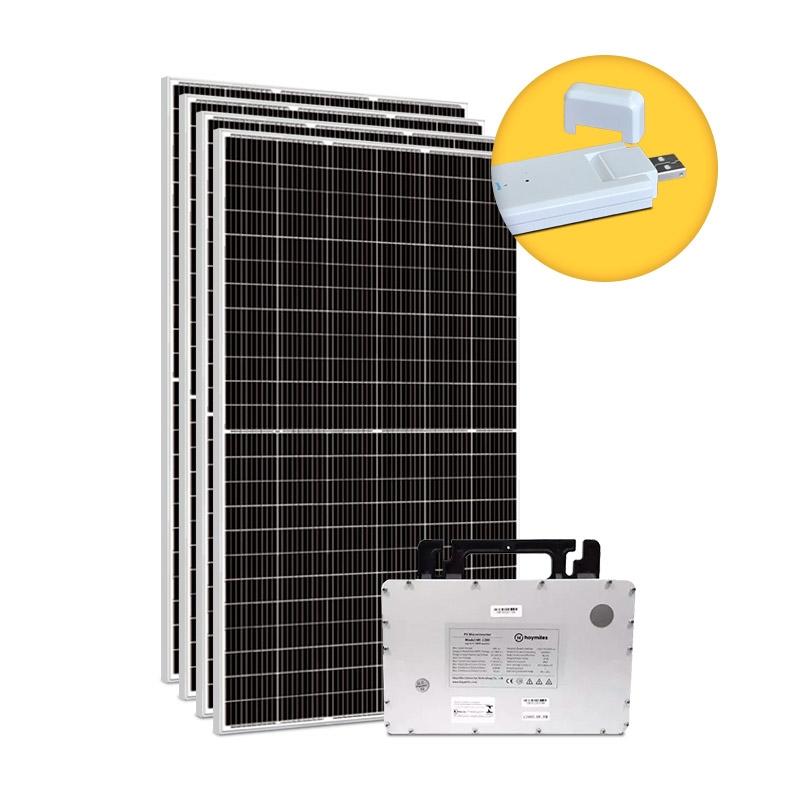 Kit Gerador Energia Solar 1,80 kWp - Microinversor Hoymiles c/ Monitoramento - Mono 220V
