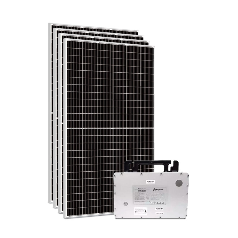 Kit Gerador Energia Solar 1,80 kWp - Sem Estrutura - Micro Inversor Hoymiles - Sunova - Mono 220V