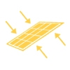 Célula Fotovoltaica Bifacial