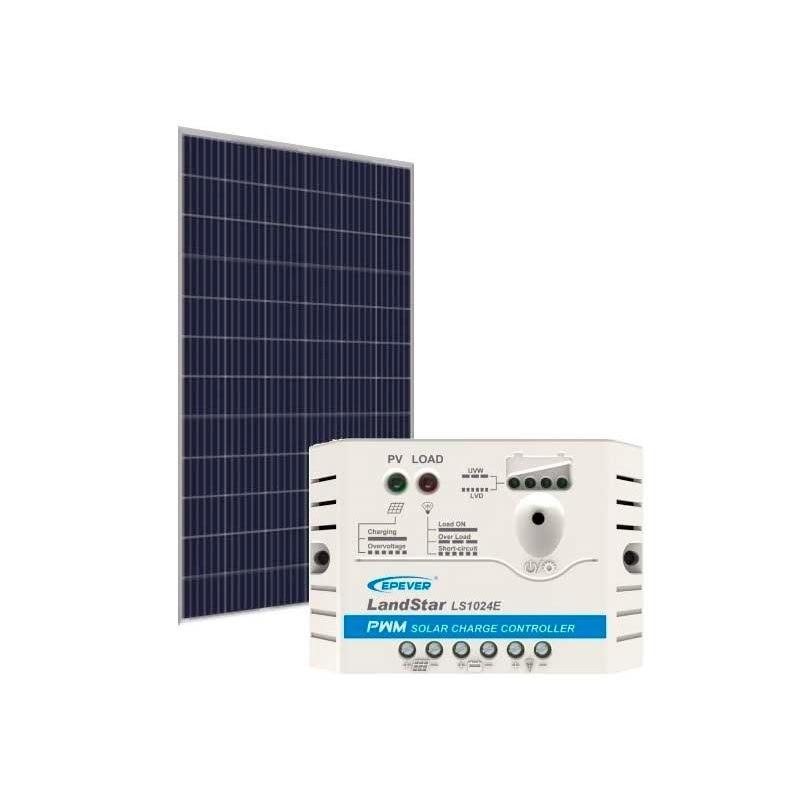 Kit de Energia Solar Off Grid de 330Wp