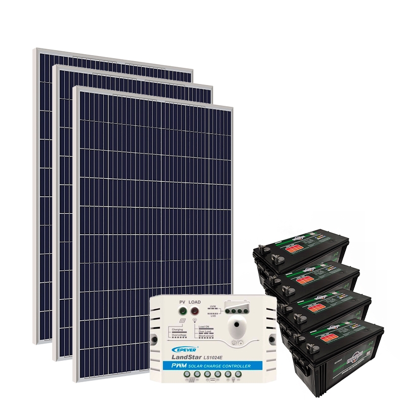 Kit Gerador Off-Grid 990Wp