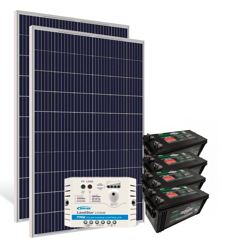 Kit Gerador Off-Grid 670Wp