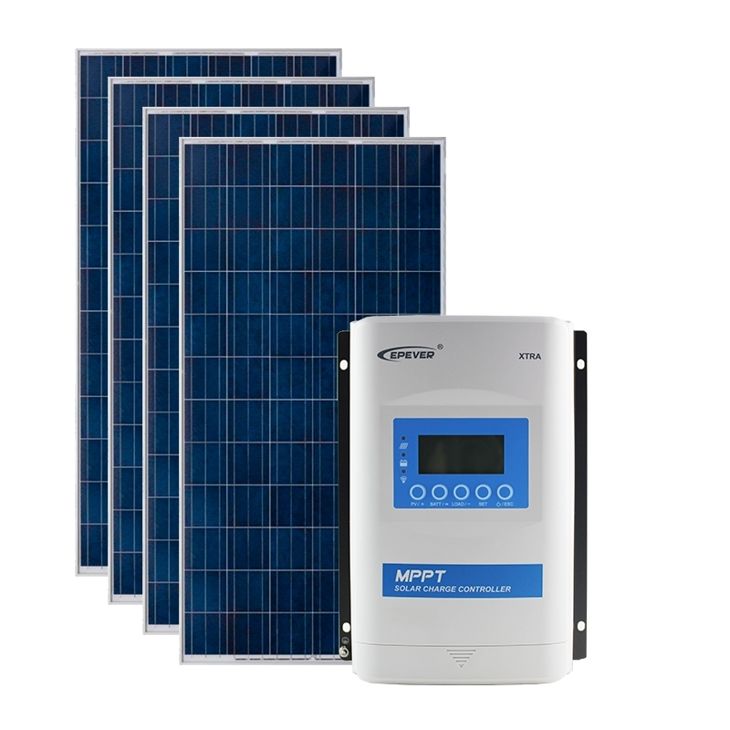 Kit de Energia Solar Off Grid de 840Wp