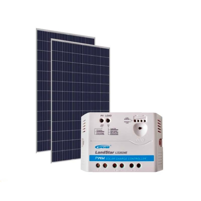 Kit de Energia Solar Off Grid de 680Wp