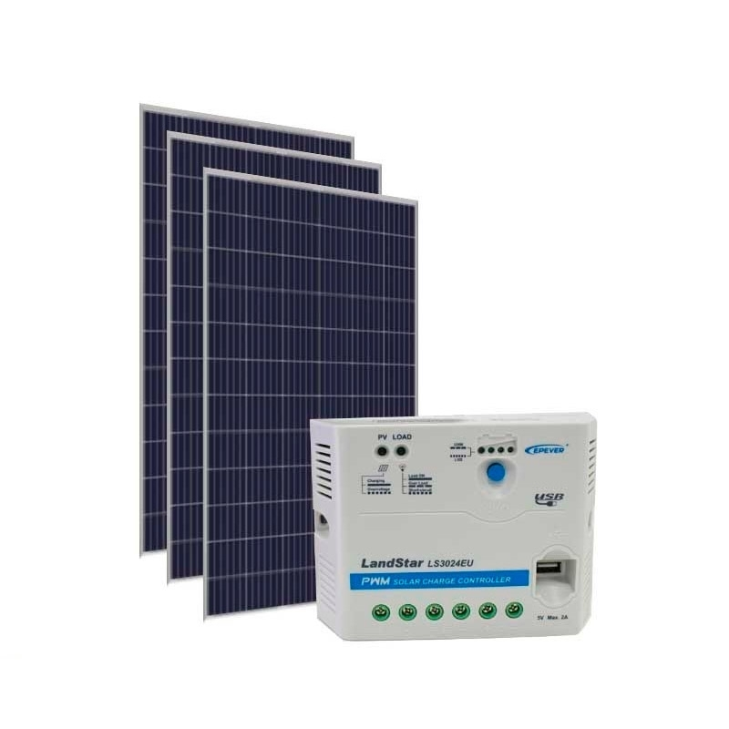Kit de Energia Solar Off Grid de 990Wp