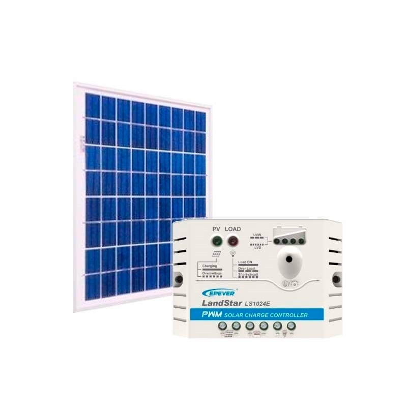 Kit de Energia Solar Off Grid de 10Wp