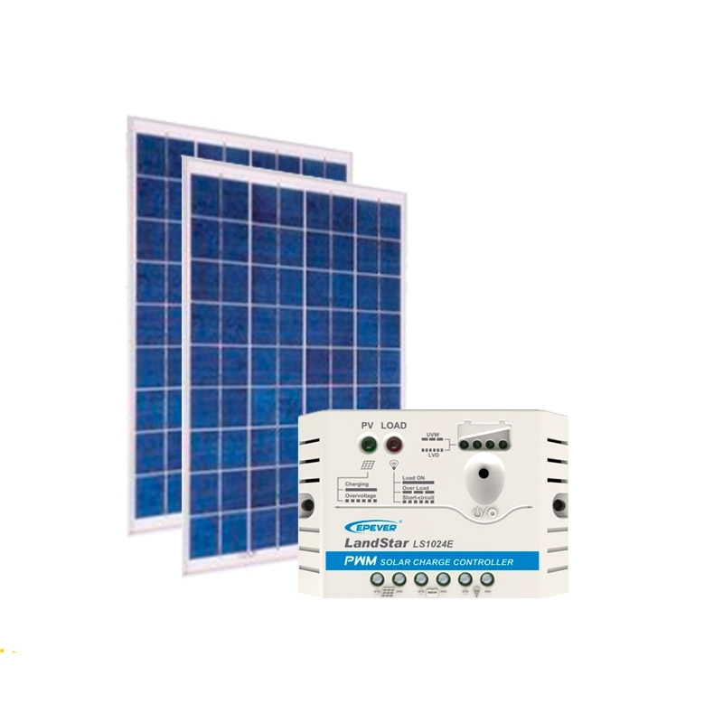 Kit de Energia Solar Off Grid de 60Wp