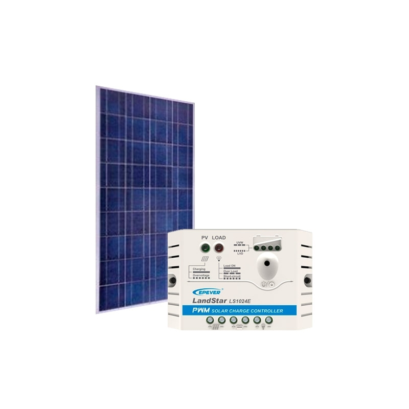 Kit de Energia Solar Off Grid de 100Wp