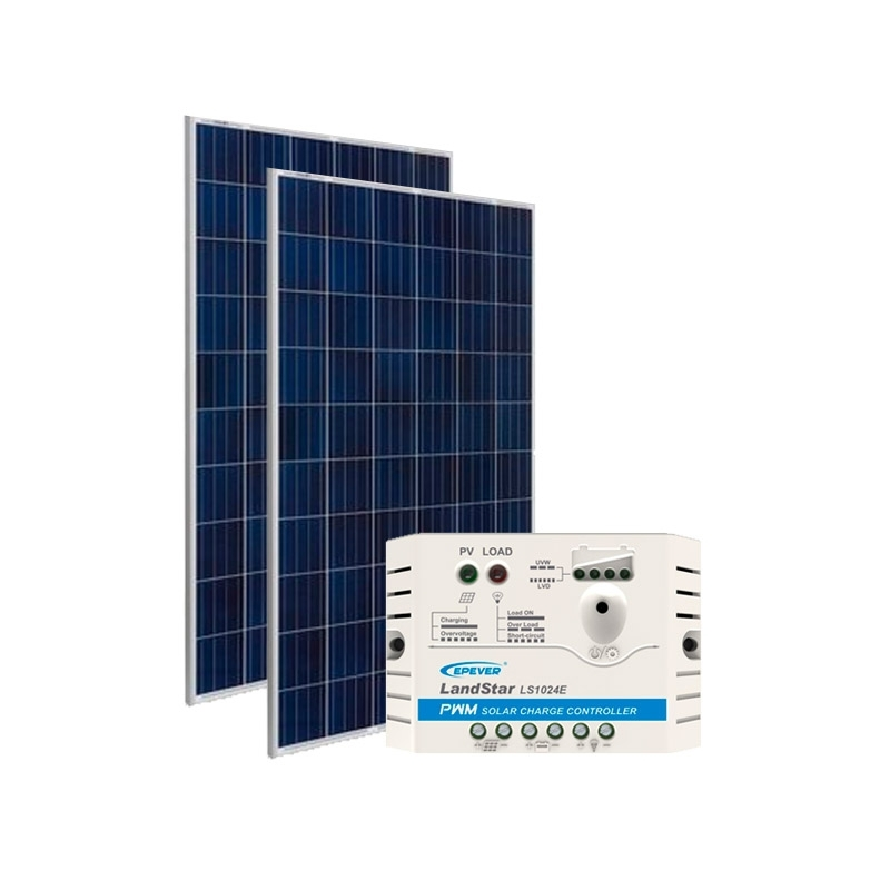 Kit de Energia Solar Off Grid de 310Wp