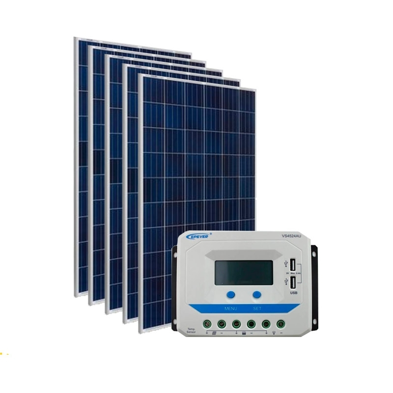 Kit de Energia Solar Off Grid de 775Wp