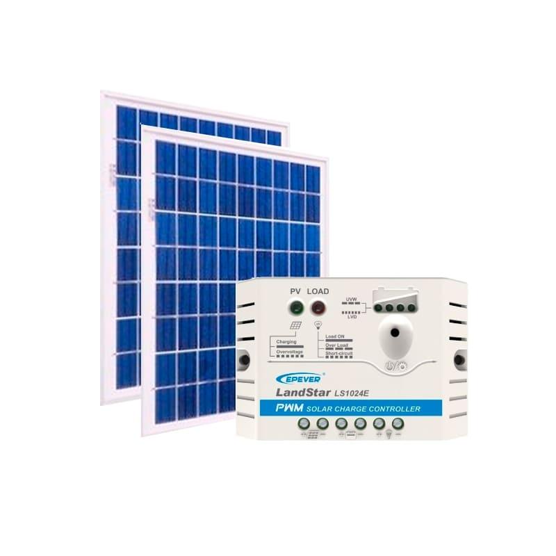 Kit de Energia Solar Off Grid de 20Wp