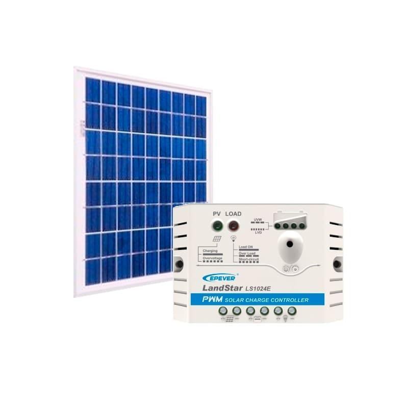 Kit Energia Solar 30Wp