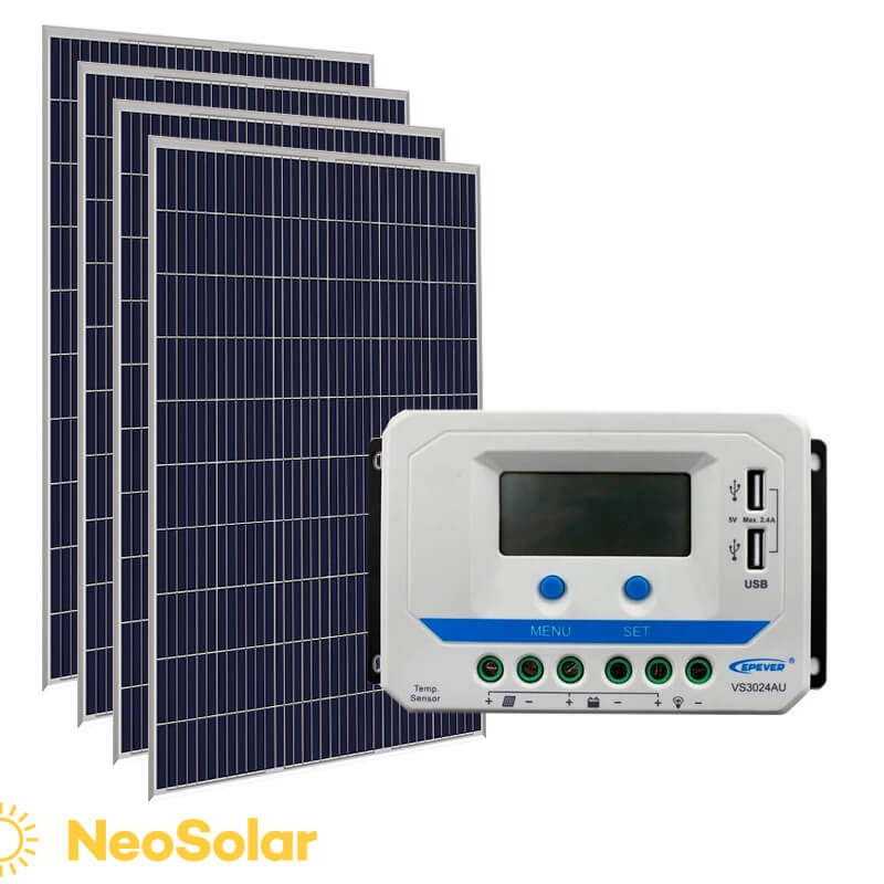 kit energia solar 1340Wp