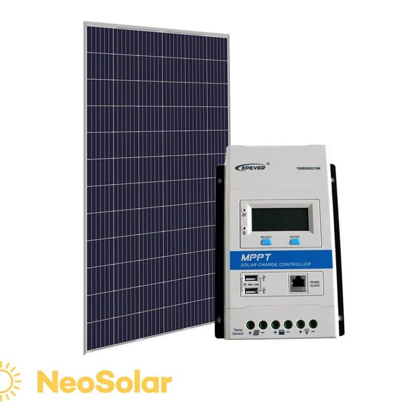 kit energia solar 330Wp