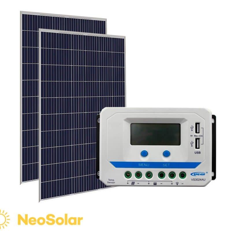 kit energia solar 640Wp