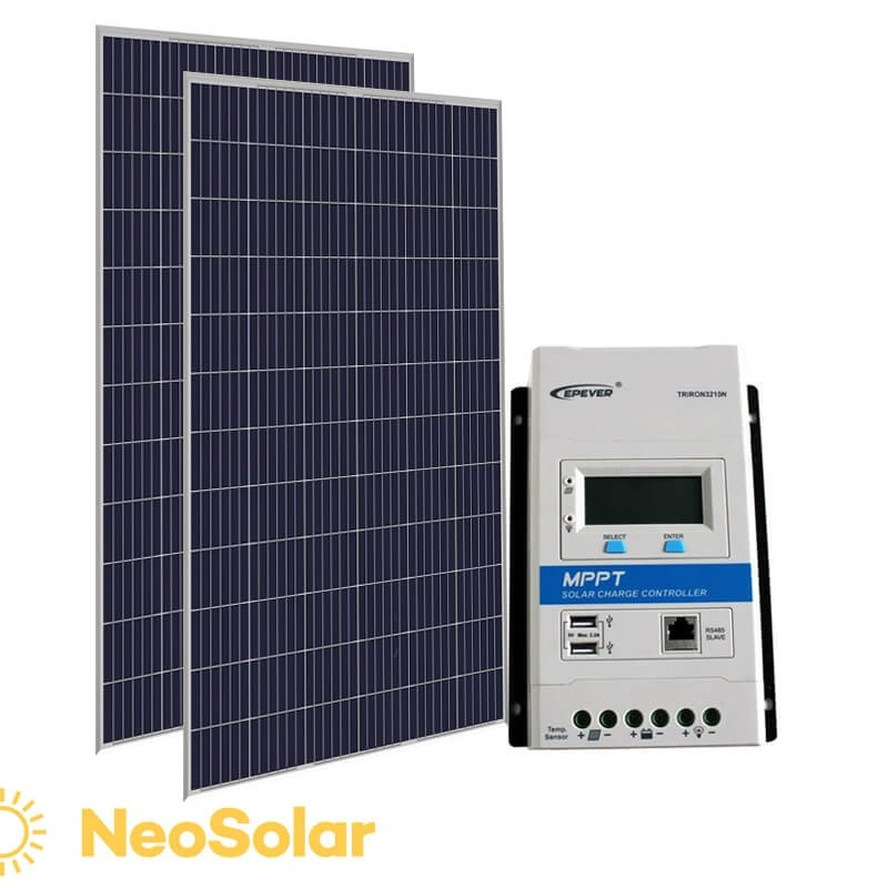 kit energia solar 660Wp