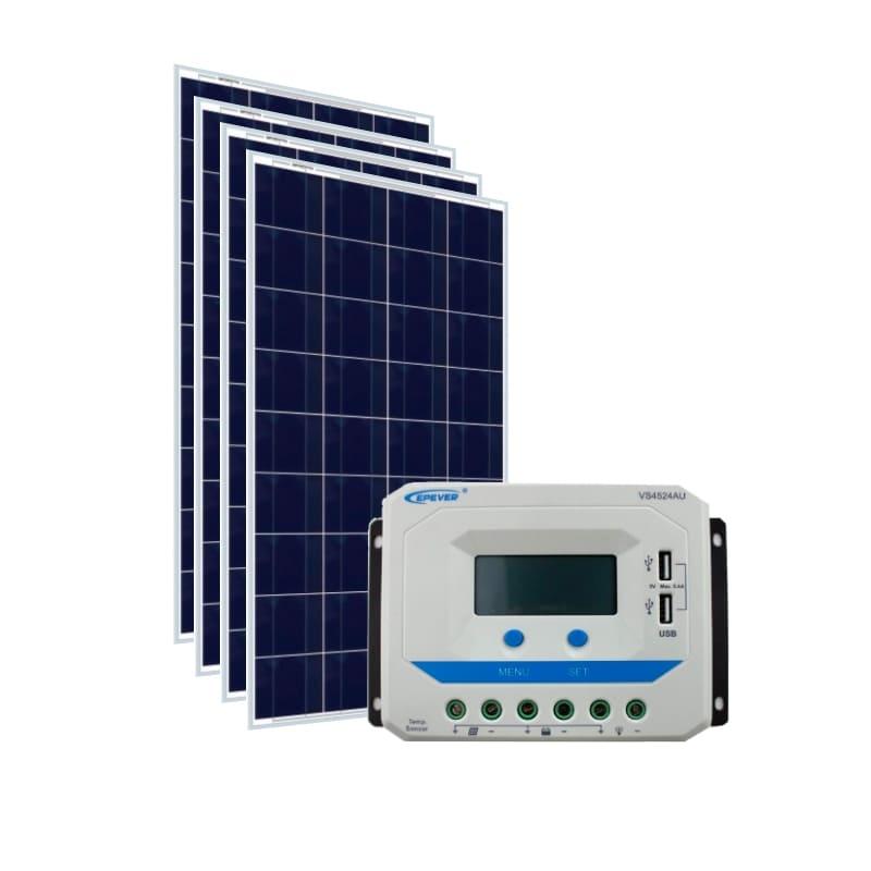 Kit Energia Solar 620Wp