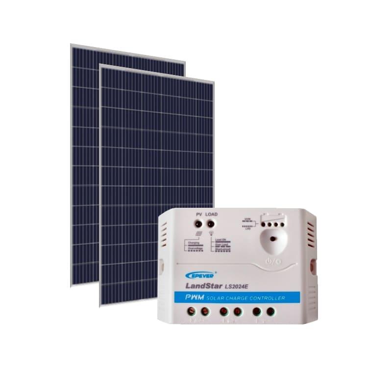 Kit Energia Solar 670Wp