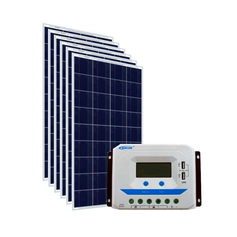 Kit Energia Solar 930Wp