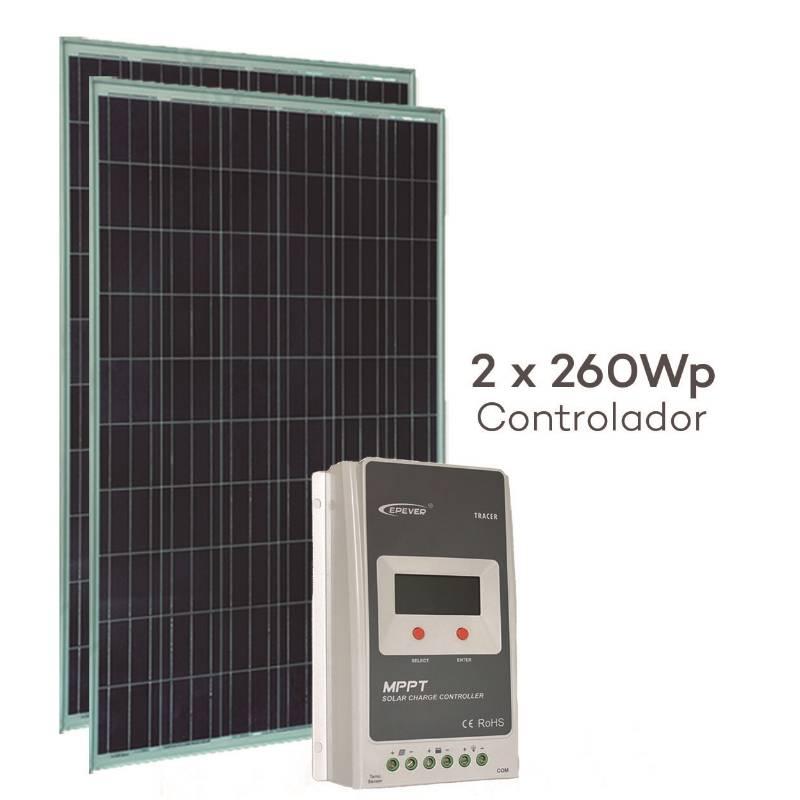 Kit Energia Solar 520Wp