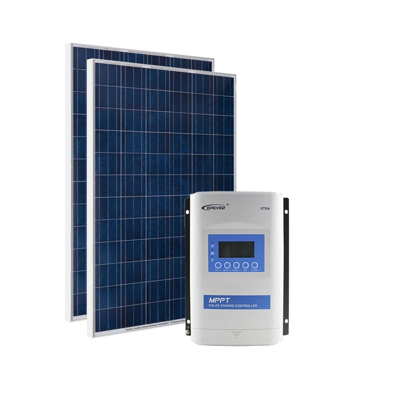 Kit de Energia Solar Off Grid de 570Wp