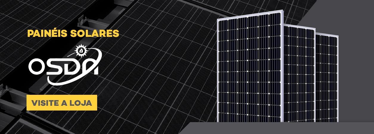 Painel Solar - Painel Solar Fotovoltaico - Módulo Fotovoltaico OSDA Solar