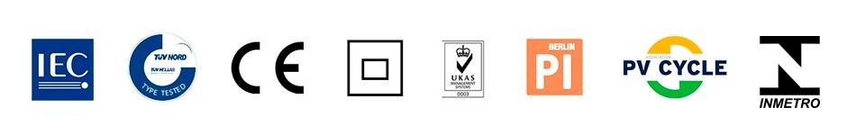 Certificados de qualidade Resun