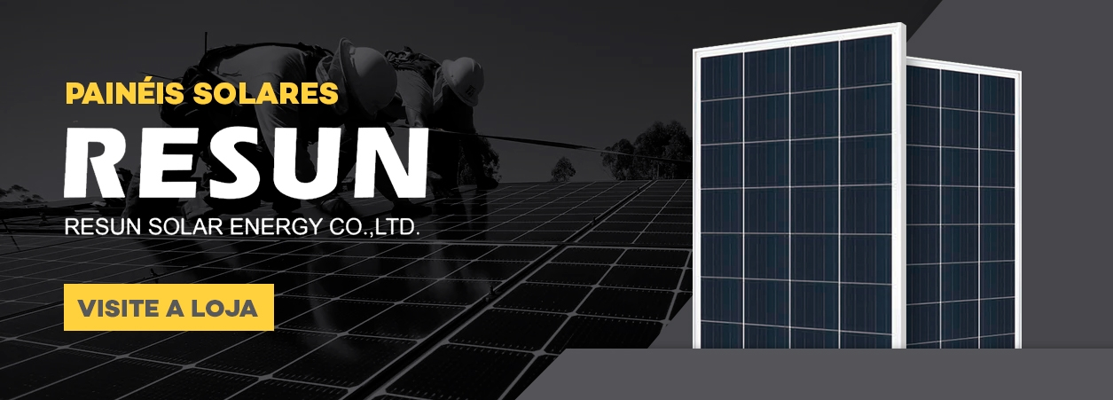 Painel Solar - Painel Solar Fotovoltaico - Módulo Solar Resun