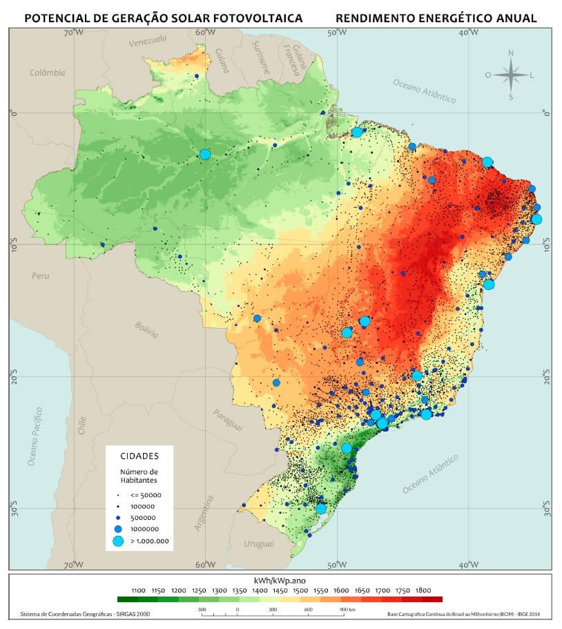 Cinturão do Sol Energia Solar Fotovoltaica Brasil
